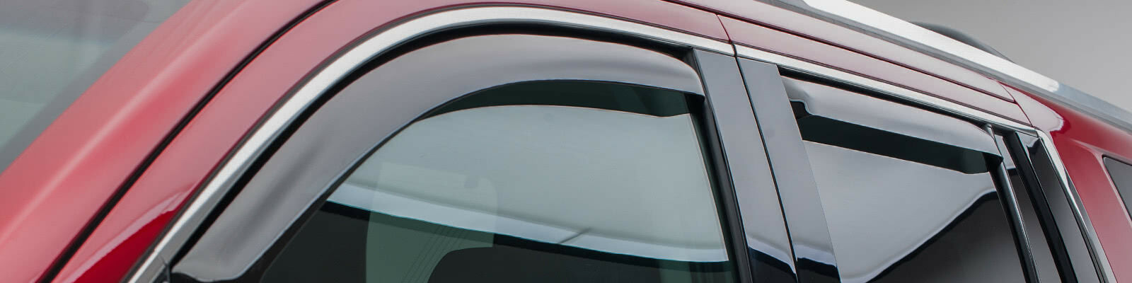 chevy tahoe inchannel window visors dark smoke
