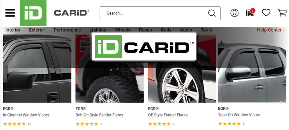 CARiD website