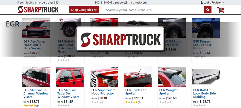 SharpTruck website